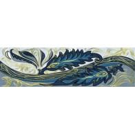 Фріз Олександрія Світло - Блакитна 20*6  ( В13331) 1 шт.