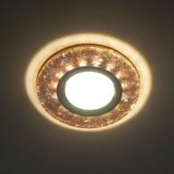 Точка 8585-2-MR16 білий срібло LED
