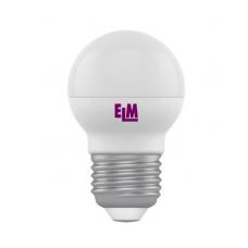 LED ELM лампа 7W 4000K D45 Е27 220V