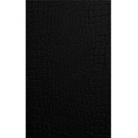 Плитка обл. Кайман черная (К4С061) 25*40 кв.м