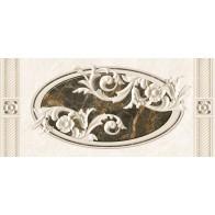 Декор Fenix Серый вензель 23*50 (1шт.)